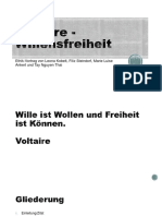 voltaire willensfreiheit