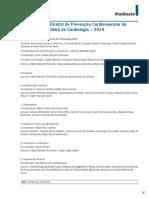 Atualização da Diretriz de Prevenção Cardiovascular da Sociedade Brasileira de Cardiologia – 2019