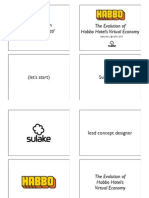 GDC 2010 Virtual Economy- Habbo by Sulka - lead concept designer