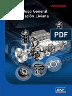 catalogo aplicaciones vehiculos rodamientos SKF