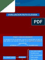 ELECCION DE RUTAS