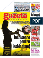 Povestea Marianei Cetiner în paginile GSP
