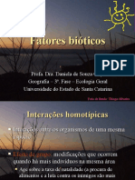 5 - Fatores bióticos