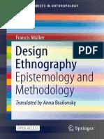 (SpringerBriefs in Anthropology) Francis Müller - Design Ethnography_ Epistemology and Methodology-Springer International Publishing_Springer (2021)