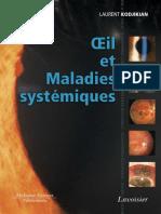 9782257205803 Oeil Et Maladies Systemiques Sommaire