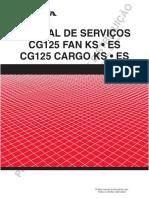 Manual de Serviços Cg Fan 125