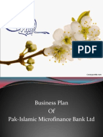 Slide of entrepeneur biz plan