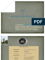 rbi & monetary policy