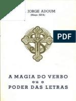A MAGIA DO VERBO - UNIVERSALISMO