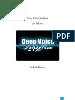 Rudy Haynes - Deep Voice Mastery 2nd Ed