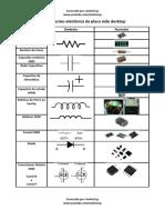02-Componentes eletrônica da placa mãe desktop