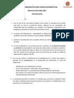 Pautas_Charlas informativas_Voluntariado JNE