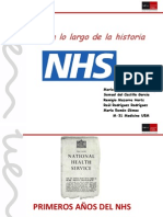 Revisión historia National Health Service