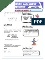 Factorización Por Factor Comun Para Primero de Secundaria (2)