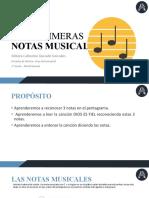 1° Grado - Notas musicales