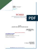 LATICÍNIO FLEURY PCMSO 2020 2021