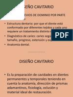 DISEÑO CAVITARIO