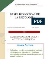 Bases Biologicas de Psicologia