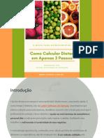 E-BOOK COMO CALCULAR DIETAS
