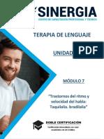 Modulo 7 - Terapia Del Lenguaje