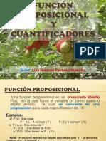 funcinproposicionalycuantificadores-130420095626-phpapp01
