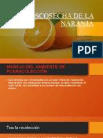 POSCOSECHA DE LA NARANJA