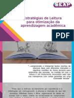 PDF Estratégias de Leitura para otimização da aprendizagem acadêmica