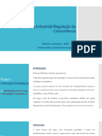 Organização Industrial - Ciências Econômicas