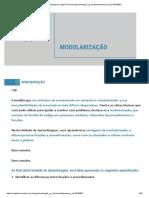 modularização