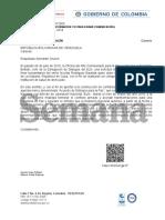 Ofi18-00075616 - Jmsc Chacín Autorización Rodrigo Rivera Viaje Humanitario Gabino MA