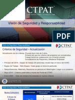 Seccion 1 Vision de Seguridad y Responsabilidad Webinario - CTPAT 2020 en Español