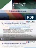 Seccion 2 Analisís de Riesgo - Webinario CTPAT 2020 en Español