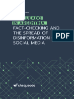 Chequeado in Argentina. Fact-checking and the Spread of Disinformation on Social Media