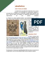 Manual de Tarot Cabalistic o Segundo Ruiz