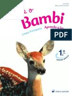 Eu e o Bambi - língua portuguesa