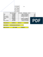 Balance de materia PVC