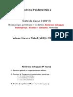 0. Programme Biochimie Fondamentale 2