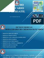 8vo modulo MODALIDADES DE CREDITOS BANCARIOS