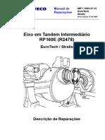 MR 07 Stralis Euro Tech Eixo Tandem Intermediario RP160E(R2478) - Português