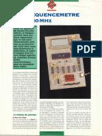 Fréquencemètre 20Mhz