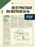 Theorie et pratique du secteur 50Hz