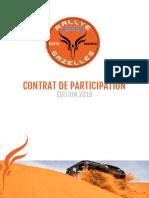 206 Contrat de Participation Rallye Aïcha Des Gazelles 2019 FR