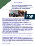 RAPORT DE ACTIVITATE EDUCATIVA SCOLARA SI EXTRASCOLARA