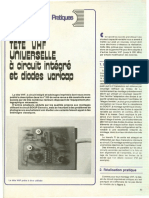 Tete VHF universelle