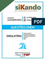 05 - QUESTÕES ENEM - Ondulatória