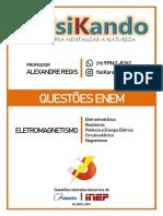 06 - QUESTÕES ENEM - Eletromagnetismo