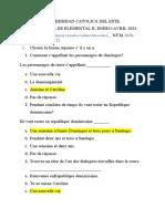 Examen de Frances