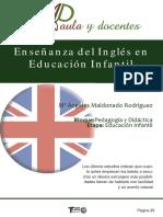 El inglés en la educ infantil