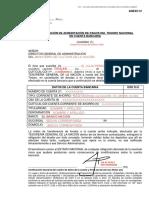 EJEMPLO PARA COMPLETAR ANEXO CTA BANCARIA (IV)