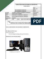 Set Up Computer System Unit Components